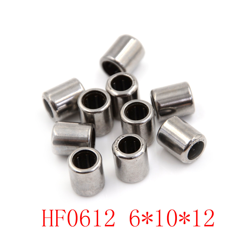 10 Pz Di Alta Qualità Hf0612 Un Modo Cluth Ago Cuscinetto A Rulli 6x10x12mm