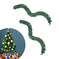 Christmas Items Decorazioni Natale 270 Cm Tree Decoration Synthetic Rattan Thick Tinsel Green Garland Party Decoration