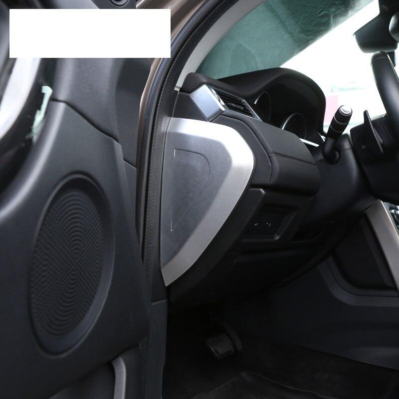 Pour Discovery Sport 2015/2016/2017/Car-styling Plastique central Console multifonction Bo/îte de rangement de plateau de t/él/éphone accessoire