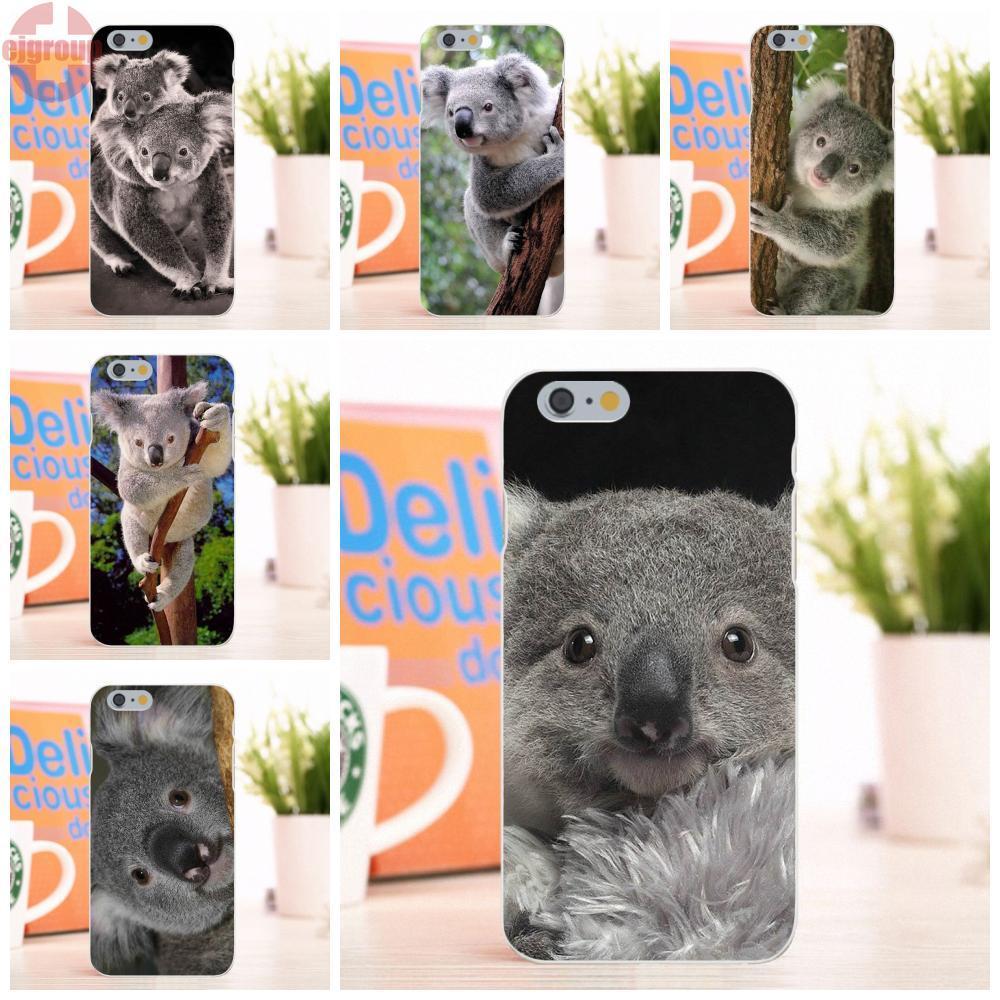 Ejgroup для Apple iPhone 6/6 s 4.7 дюймов Мягкие TPU кремния печати телефон чехол милый коала