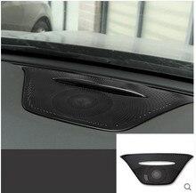 Accessories For Mercedes Benz GLA CLA 2014 - 2016 Metal Dashboard Console Speaker Trim 1 Pcs