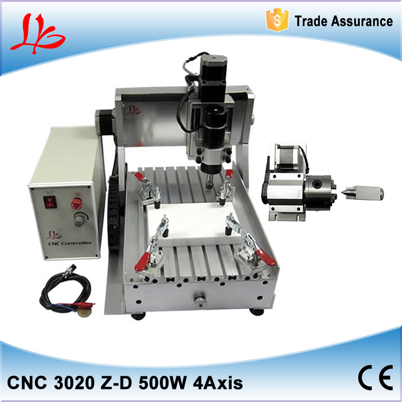 4 Axis CNC DIY Router Machine Engraving Machine PCB Milling Machine CNC Wood Carving Mini Engraving Router 2020v diy cnc router kit mini milling machine 3 axis brass pcb cnc wood acrylic carving engraving router pvc pyrography