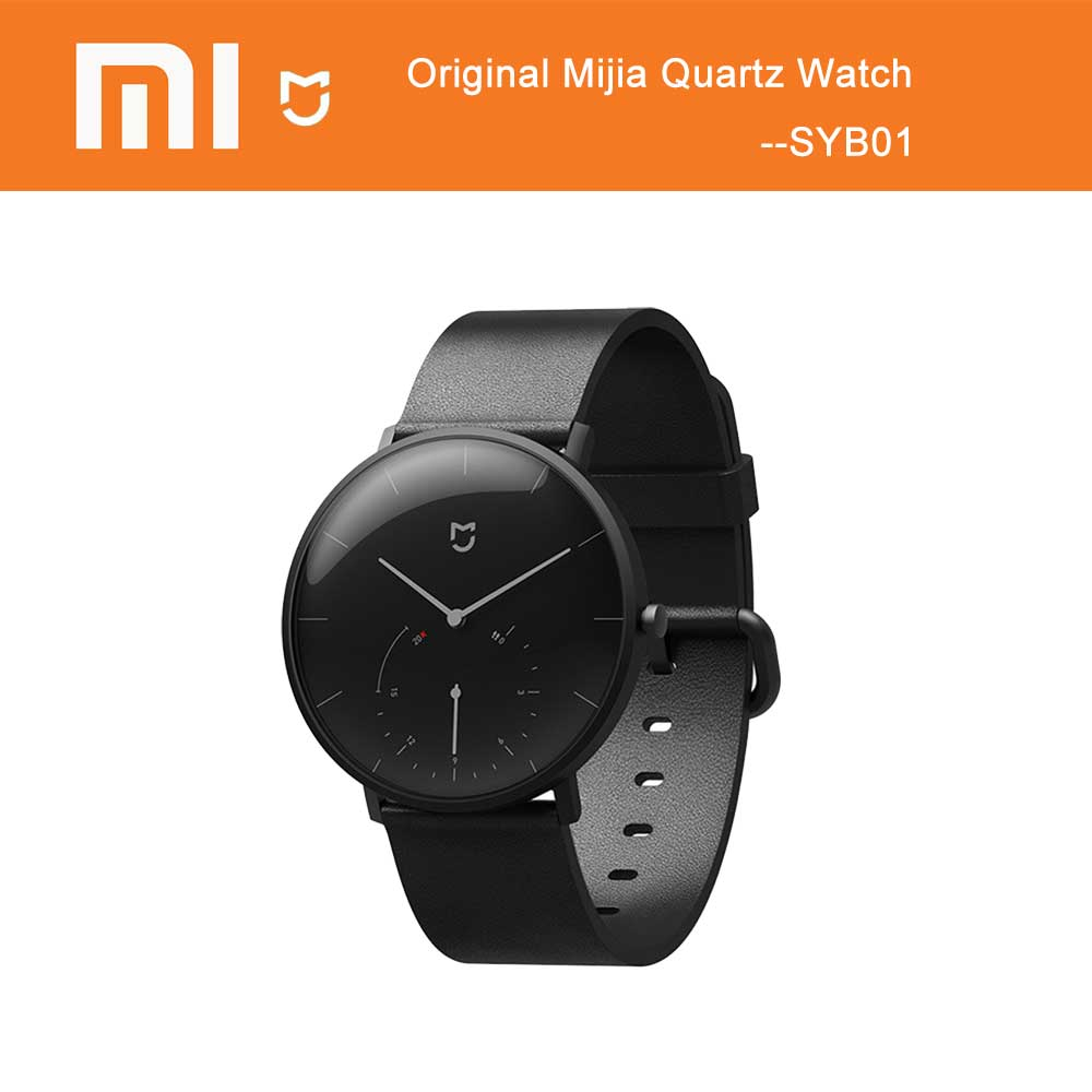 Original <font><b>Xiaomi</b></font> <font><b>Mijia</b></font> Quarz Smart Uhr BT IP67 Wasserdichte Mechanische <font><b>SmartWatch</b></font> Schrittzähler Intelligente Erinnerung Für Android IOS image