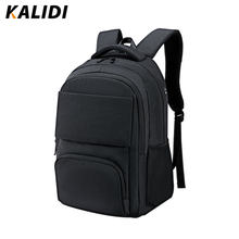KALIDI Waterproof Men Backpacks Classic Business 35L Larger capacity for 15.6inch laptop Bags Multifunctional Travel School bags(China)