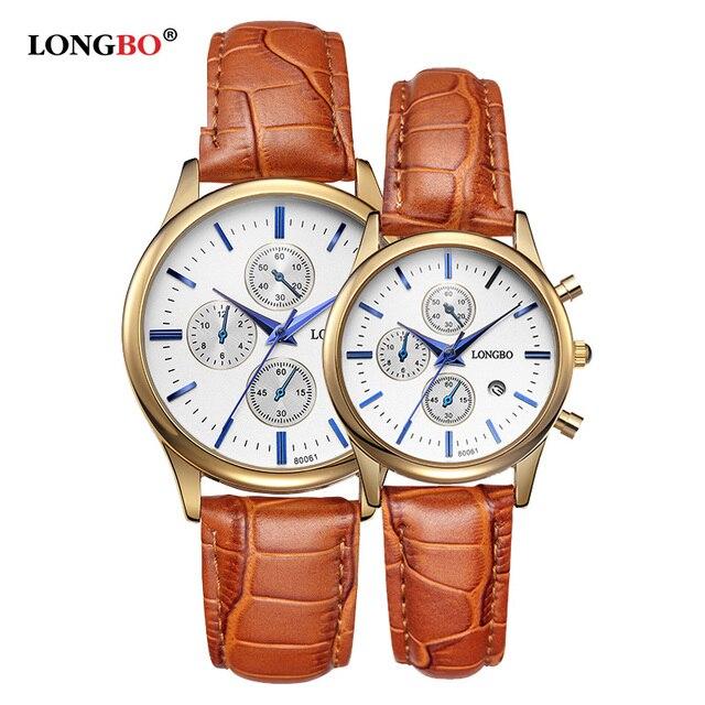 Longbo marca estilo famoso reloj de los hombres relojes de lujo reloj de cuarzo reloj de pulsera para hombres reloj de cuarzo relogio masculino masculino regalo