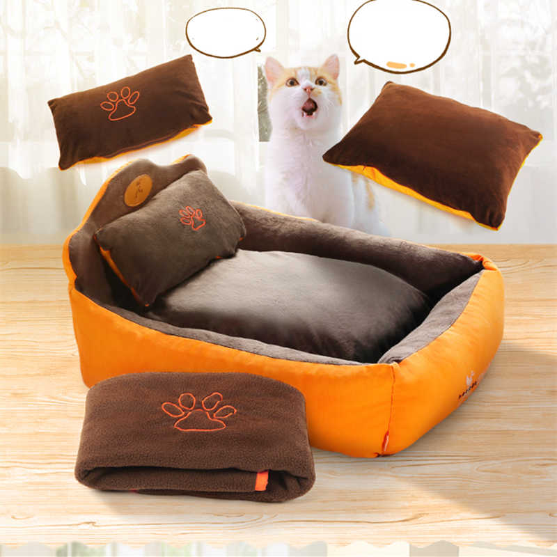 PET Dog Cat บ้านเบาะสัตว์เลี้ยงสำหรับแมวสุนัขสุนัขโซฟาสุนัข kennel Luxury Noble Princess เตียงสัตว์เลี้ยง