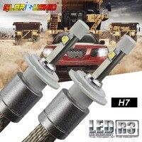 LED Car Super Bright R3 80W 9600LM Car Headlights H7 H1 H3 H4 H11 9005 9006