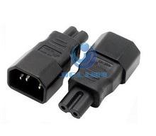 AC adapter AC convert IEC C14 to C7 power adapter C14 C7 IEC C7 to C14