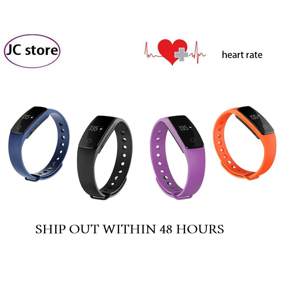 Bluetooth Smart band HeartRate Monitor Fitness Tracker Veryfit 2 0 app Wristband for Android iOS