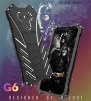 2017 Nuovo Caso G6 R-SOLO BATMAN Doom Heavy Duty Armatura Metallica alluminio Casse Del Telefono Mobile Per LG G6 5.7 pollice Del Telefono Mobile Shell