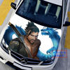 Custom Made Car Accessories Japanese Car Stickers Decals 3D Anime Game Overwatch Hanzo Hood Sticker Auto