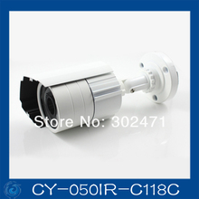 600TVL 639+2041 CCD 24pcs IR leds Day/night waterproof indoor / outdoor CCTV camera with bracket..CY-050IR-C118C