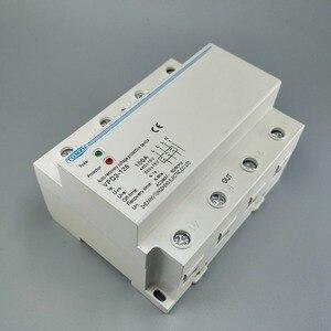 Image 5 - Relais de protection sur tension et sous tension automatique, 100a 380V triphasé à quatre fils Din rail
