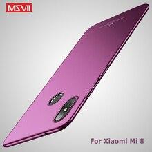 Xiao mi mi 8 vaka Msvii Ince Mat Kapak Için Xiao mi mi 8 Pro SE durumda Xio mi mi 8 Lite Sert PC Kapak Için Xiao mi mi 8 Pro SE ...