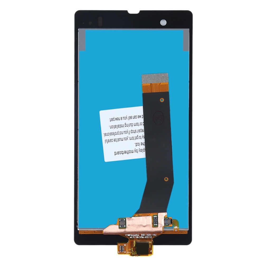 C6602 Đối Với lcd Sony Xperia Z L36h L36i C6606 C6603 C6602 C6601 C660X LCD Hiển Thị Digitizer Màn Hình Cảm Ứng Lắp Ráp Thay Thế