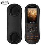 SERVO K8 2.8 HD Big Screen 3 SIM card Mobile Phones Portable Bluetooth Speaker Singing phone 5800mAh Power Bank Flashlight GPRS