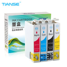 TIANSE T0731 T0734 73N Inkt Cartridge Voor Epson CX3900 CX7300 CX8300 TX210 C79 C90 CX3905 CX4900 CX4905 CX5500 CX5600 Printer(China)