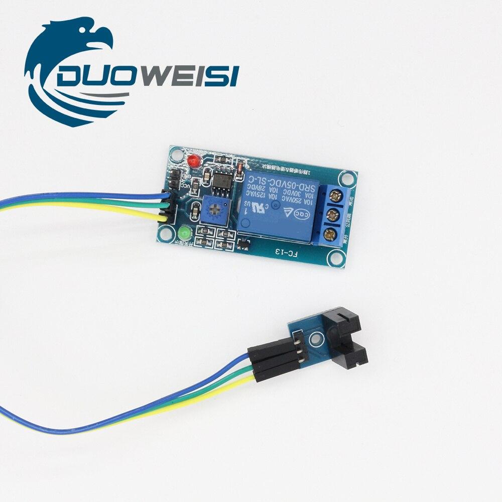 Тип Groove оптическая связь плюс релейный модуль датчика скорости измерения и импульсное Реле Переключатель RY030