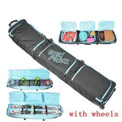Большая сумка для сноуборда, большая Защитная сумка для катания на лыжах, профессиональная спортивная сумка для катания на лыжах, сумка для ...