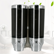 Wall-mounted Single-head Double-head Soap Dispenser Bathroom Hand Kitchen Liquid Box 400mL