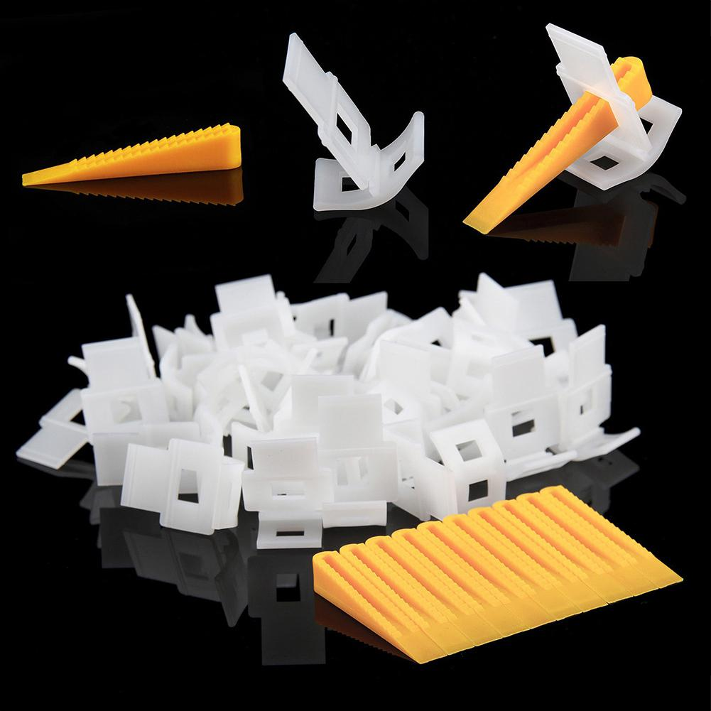 White Base For Tile Leveling Spacer System Construction Tool Accessories Wedges Tiling Flooring PE Tile Grout