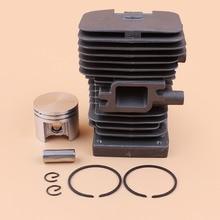 38mm nikasil cilindro pistão anéis kit para stihl ms180 ms 180 018 motosserra serras de corrente peças motor 11300201208, 1130 020 1208