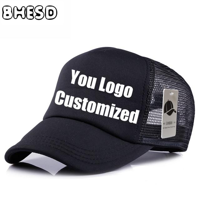 10pcs Lot Bhesd Custom Plain Mesh Baseball Cap Advertisement Hat