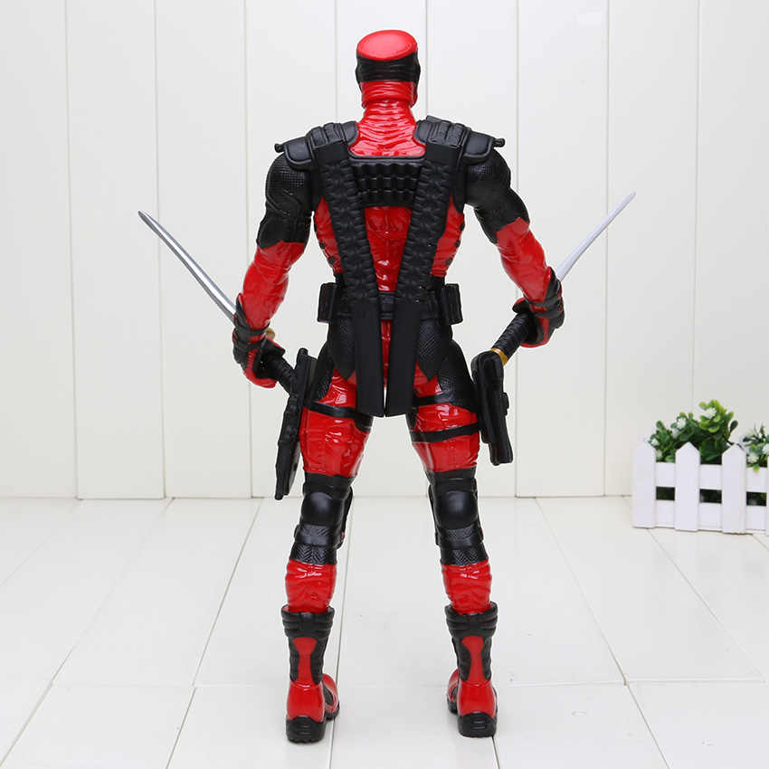 33 cm Deadpool Red Ver. ação Figura 1/7 scale pintada figura Deadpool Wade Wilson ACGN PVC Boneca figura toy