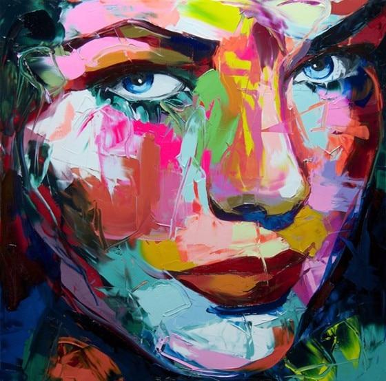 Achetez en Gros femme visage peinture en Ligne à des