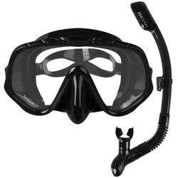 Copozz ماركة المهنية Skuba قناع الغطس نظارات واسعة الرؤية معدات الرياضات المائية مع مكافحة الضباب قطعة واحدة عدسة تحت الماء