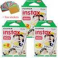 High qulaity 60 sheets Original Fujifilm Fuji Instax Mini Film White Sheet for 7 7s 8 10 20 25 50s 50i SP1 dw free shipping