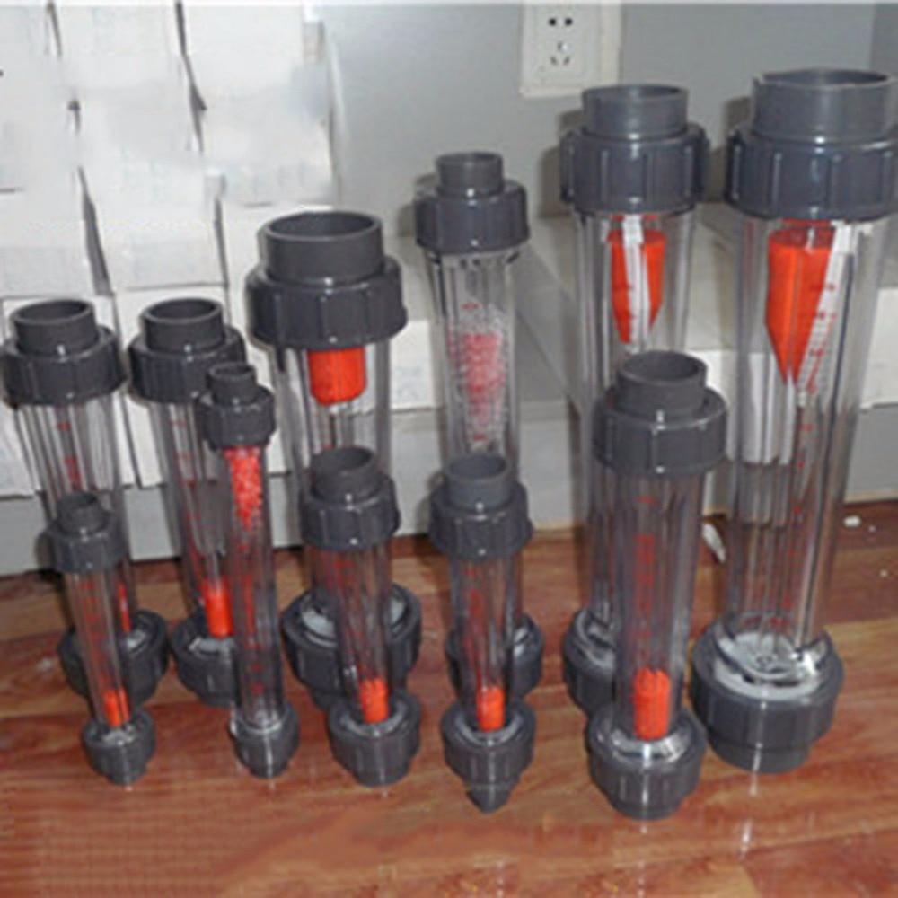 LZB-50S Rotameter wit 1-10m3/h Flow range plastic water flow meter short tube ,LZB50S Tools Flow Meters plumbing цена