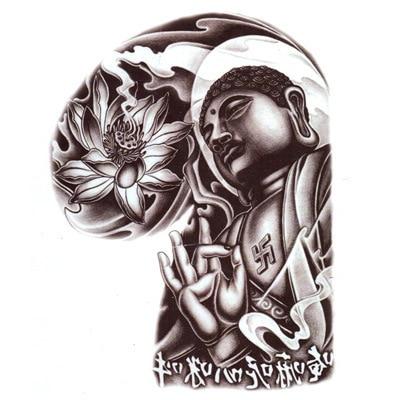 Flor De Loto Pegatinas Temporales Del Tatuaje Diseños De Tatuajes