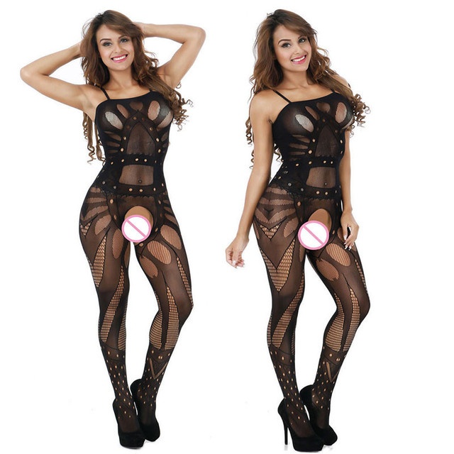 New Hot Spandex + Polyester Bodystocking For Women