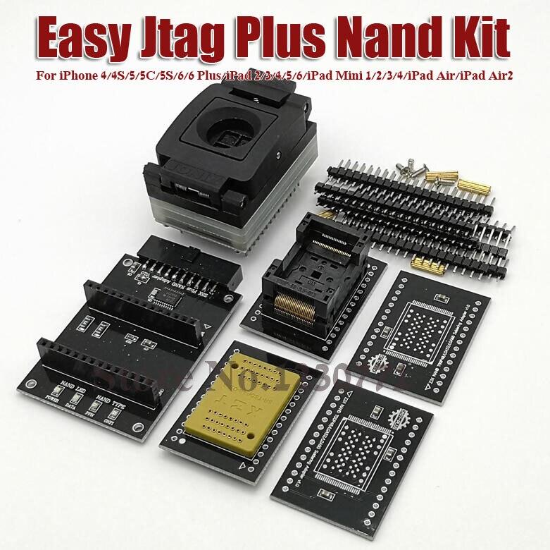 2019 dernière version facile-nand facile prise NAND pour iphone prise facile NAND travailler avec facile JTAG plus boîte