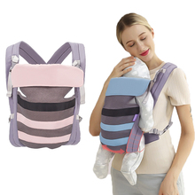 Spine Support Design Baby Sling New Brand Organic Cotton /Top Toddler Wrap Rider Backpack/high Grade Suspenders 3-36M