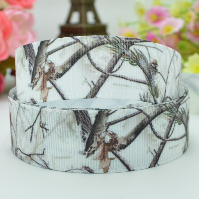 camo ribbons 100 polyester grosgrain ribbon rib tape white snow camo diy gift accessories camo wedding prom party on aliexpresscom alibaba group