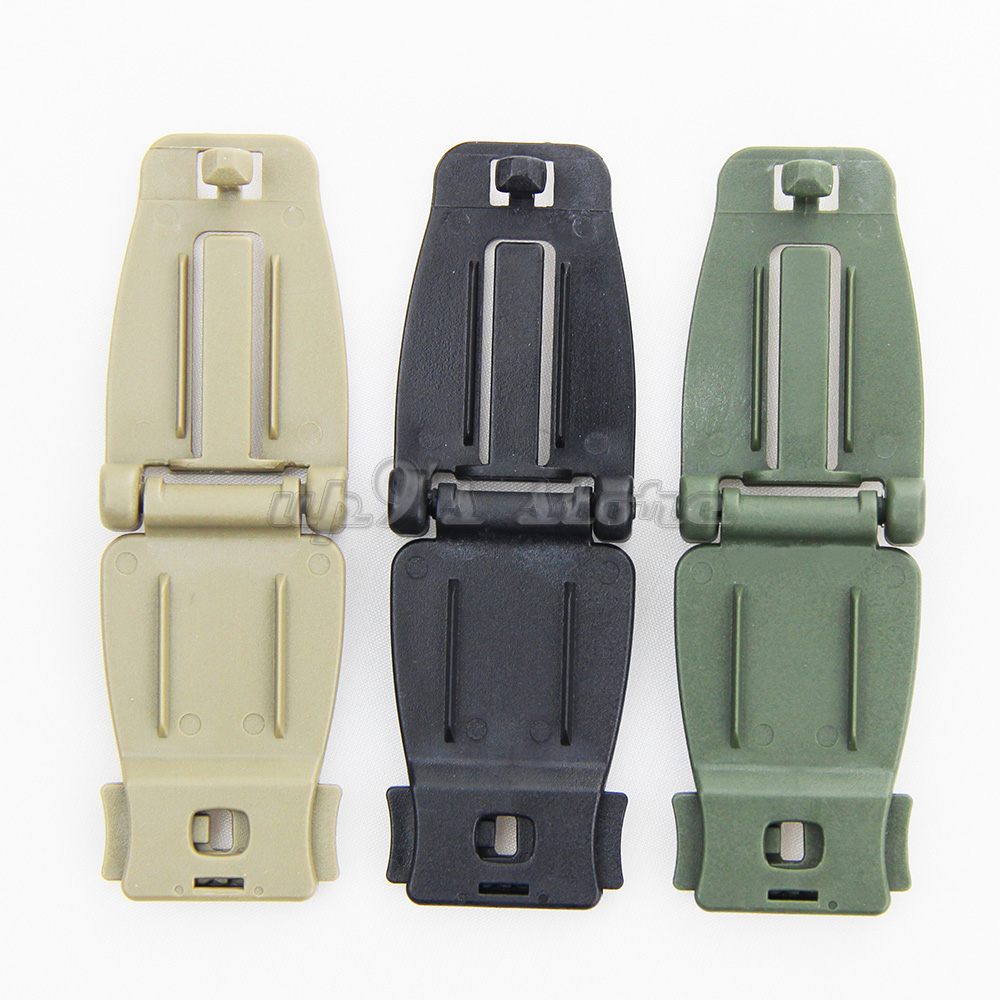 lot 10 Molle Strap Military Backpack Bag Webbing Connecting Buckle Clip 30mm
