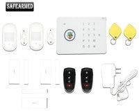 Joan safearmed 433 mhz g5 del sistema de alarma gsm sms de ladrón del hogar de seguridad con la etiqueta rfid, sensor de humo de control de acceso