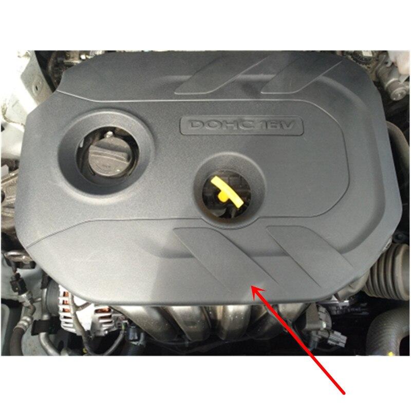 ABS Engine Hood Protection Cover Dust Guard For Hyundai Creta ix25 2014-2018/for Hyundai Tucson ix35 2010-2015 2.0L NU i4 Engine коврики в салонные ниши синие ix25 для hyundai creta 2016
