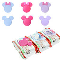 1pc Baby Wipes Lid Baby Wet Wipes Cover Portable Child Wet Tissues Lid Cartoon Mobile Wipes Wet Paper lid Useful Accessories