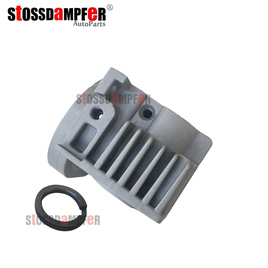 StOSSDaMPFeR New Air Suspension Air Compressor Cylinder Head With Hole O-Ring Repair Kits For VW Touareg 7L0698007D 4L069 8007D