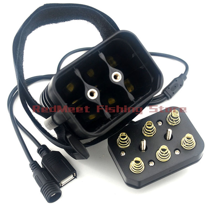 NEW Rechargeable 18650 Battery Pack Case USB Output 5V For Mobile Phone & DC Output 8.4V For Bike Lights ( Not include Battery )