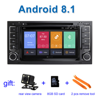 Android 8.1 Car DVD Stereo Player for Volkswagen VW Touareg T5 Multivan Transporter with Radio WiFi BT GPS
