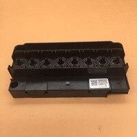 Original Epson F158000 F160010 DX5 printhead mainfold adapter for Mimaki JV33 JV5 Mutoh RJ900C water base printhead cover