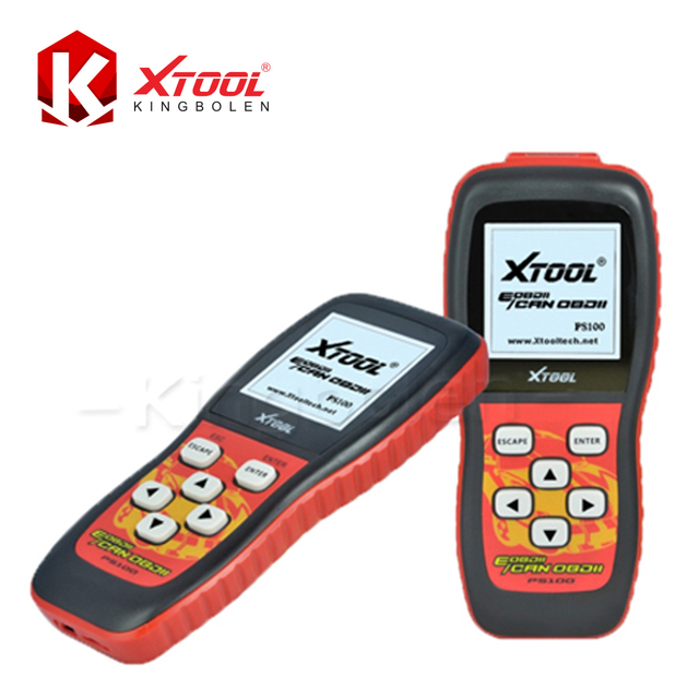 Xtool PS100 CAN OBDII/EOBDII Scanner Oxygen Tool 2016 High Quality Xtool Original Updated Online Free Shipping