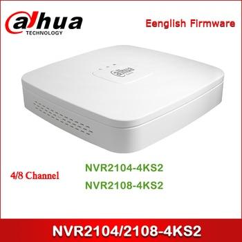 Dahua NVR NVR2104-4KS2 NVR2108-4KS2 4/8 Channel Smart 1U Lite 4K H.265 Network Video Recorder