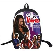 Mochila escolar chica vampiro/twilight, bolsa para adolescentes, meninos, meninas, mochilas escolares, diárias