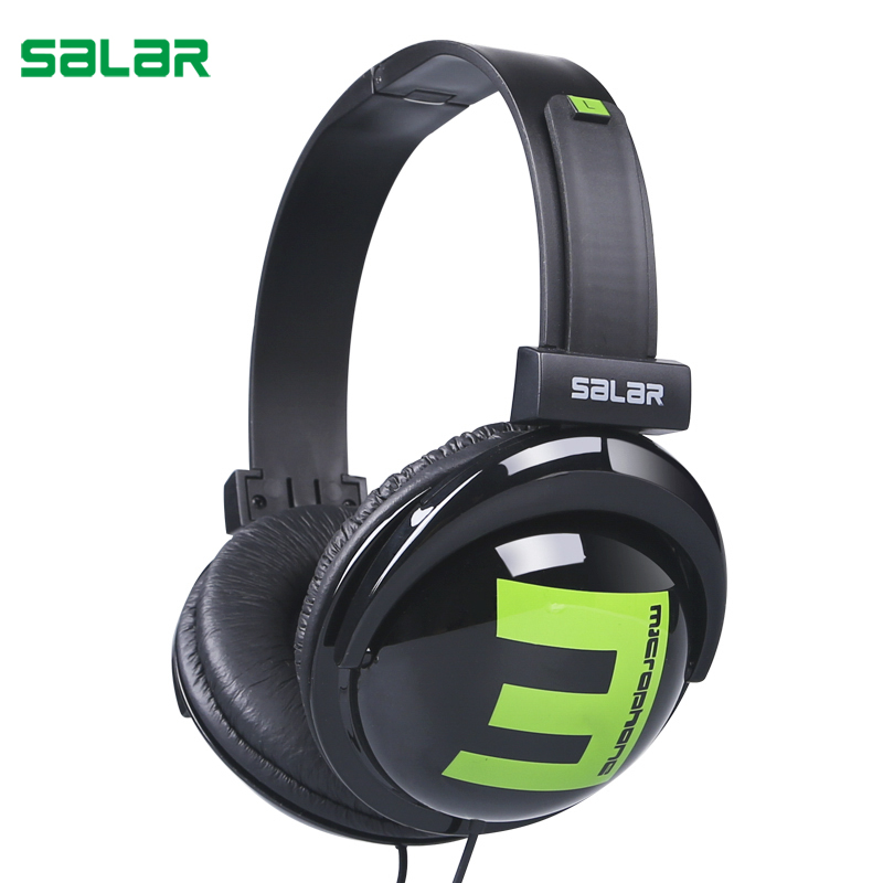 Salar Big E 3.5mm Wired Gaming Headphones Adjustable Foldable Headset Over Ear Stereo Deep Bass for Phone Tablets Computer colorful wireless bass bluetooth headphones over ear foldable headset handsfree gaming headfone with mic for mp3 phone computer