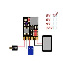 UPS мощность Diy плата зарядное устройство и повышающий преобразователь постоянного тока 2в1 зарядка Dis зарядное устройство повышающие модули 5 в 6 в 9 в 12 В выход